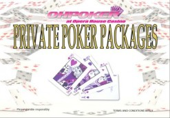New Private Poker Packages