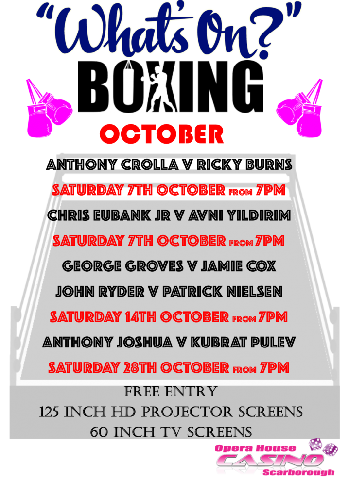 October Boxing